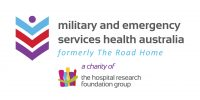 Proudly sponsored by Military and Emergency Services Health Australia.